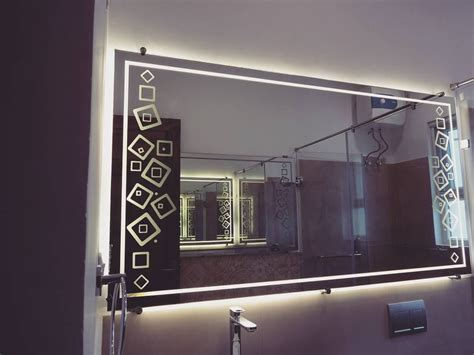 adding light to your life the bathroom mirrors are backed