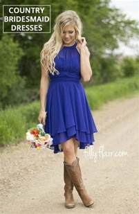 country bridesmaids dresses beautiful country bridesmaid dresses with cowboy boots for your wedding country wedding