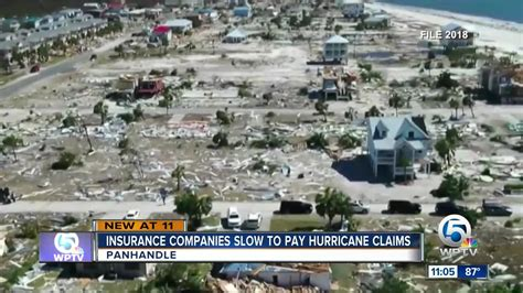 So the last thing you need is a fight with your insurance company to force it to pay. Insurers have yet to pay 15 percent of Hurricane Michael claims