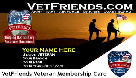 The military id card doubles as a health insurance card. Veteran Business Resources & National Veterans Business Directory