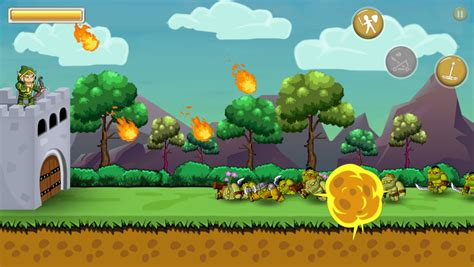 orc invasion archery game html