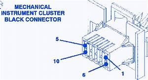 Dodge Eagle Vision 1995 Instrument Panel Fuse Box  Block