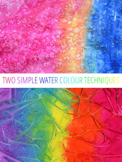 and easy colors easy for experimenting with water colours