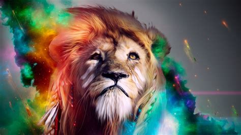 2048x1152 Lion Abstract 4k 2048x1152 Resolution Hd 4k
