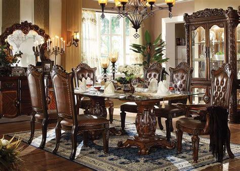 dallas designer furniture vendome formal dining room set
