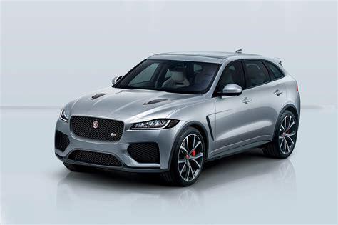 2019 Jaguar F-pace Svr First Look