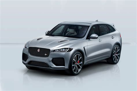 2019 Jaguar Fpace Svr First Look Svo Crafts A 550hp Suv