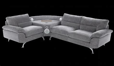Subwoofer Sofa by A Sofa With Built In Speakers Cup Of Coffee