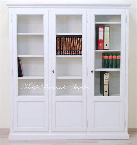 libreria chiusa librerie in legno massello 14 librerie