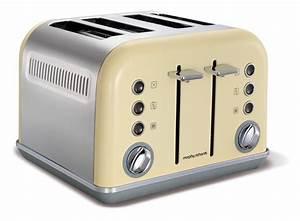 Toaster Retro Design : morphy richards toaster accents 4 toastkammern variable schlitzbreite ~ Frokenaadalensverden.com Haus und Dekorationen
