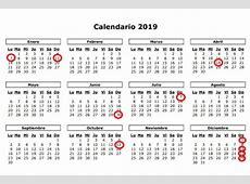 El calendario de apertura comercial de 2019 contempla 16