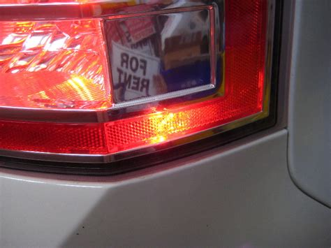 ford edge led taillight reflector conversion hidplanet