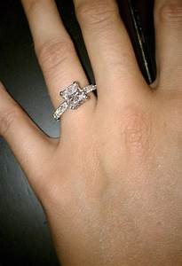Pictures of real engagement rings - Weddingbee