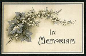 the graveyard detective in memoriam cards 4 With in memoriam cards template