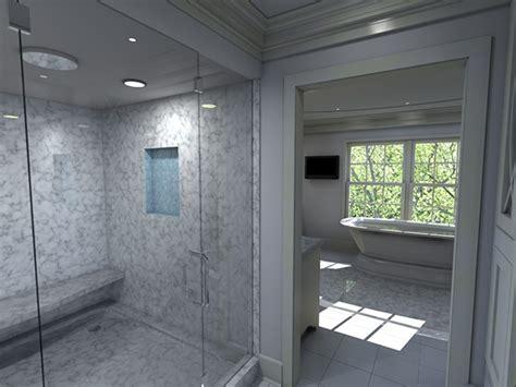 mendham luxury master bath walk in closet on behance