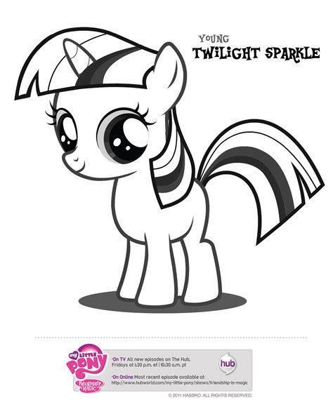 Baby My Little Pony Coloring Pages Coloring Pages For Free