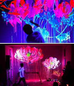 art artistic flower graffiti lights image on