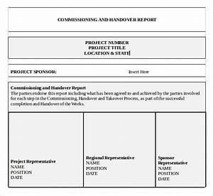 handover report letter 28 images handover report templates 18 With handover certificate template