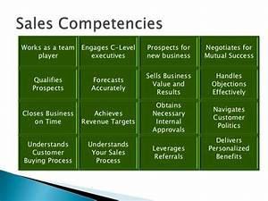 sales competency frameworks With competency framework template