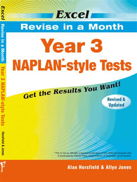 Excel  Revise In A Month  Naplan*style Test Year 3  Pascal Press Educational Resources And