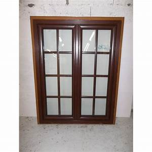 Fenetres destockage pas cher fenetre pvc marron fonce for Fenetre pvc marron