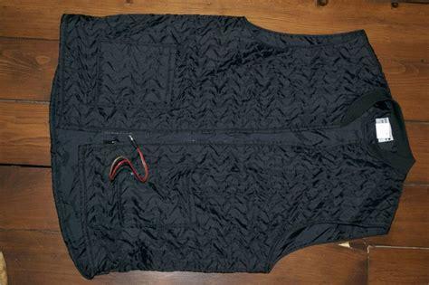 Black Jack Heated Vest Size 46 Tall