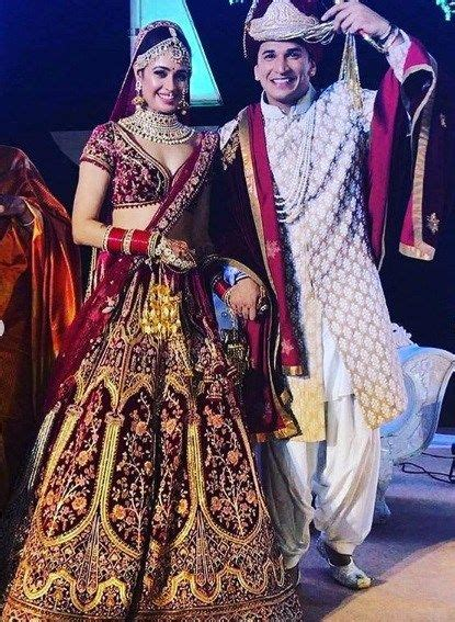 Yuvika Chaudhary Prince Narula marries | Yuvika chaudhary ...