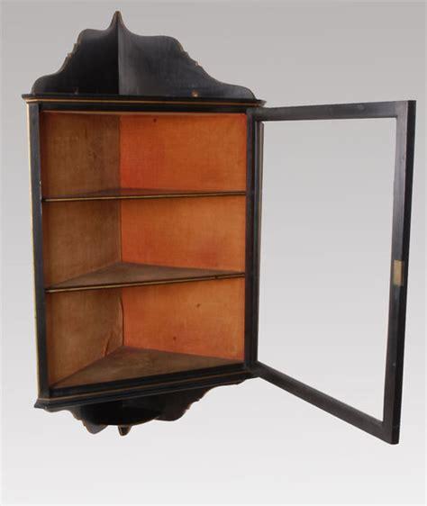 divider cabinet for sale regency ebony wall cabinet for sale antiques com