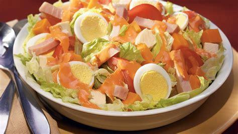 chef salad deluxe chef salad wish bone 174