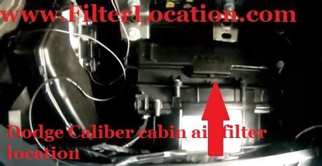 Fuel Filter 2009 Dodge Charger by Dodge Caliber Cabin Air Filter Location