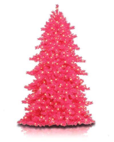hot pink christmas tree treetopia
