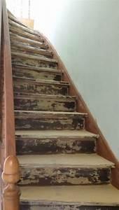 Renover Un Escalier En Bois : escalier renover peinture ou pon age ~ Premium-room.com Idées de Décoration