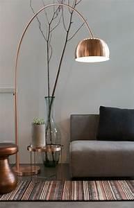 Lampe Rose Gold : quelle couleur pour un salon 80 id es en photos ~ Teatrodelosmanantiales.com Idées de Décoration