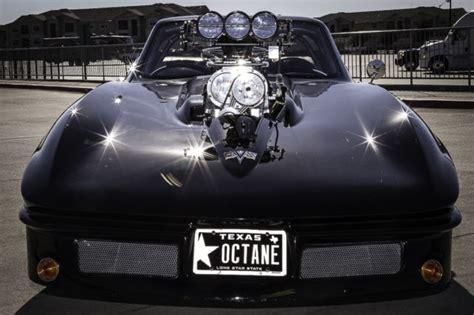 pro street  corvette split window replica blown injected