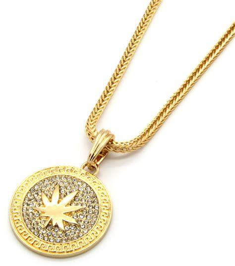 Mens Medallion Marijuana Gold Clear 24quot; Franco Chain. Married Bands. Princess Cut Stud Earrings. Freshwater Pearl Bracelet. 10 Carat Sapphire