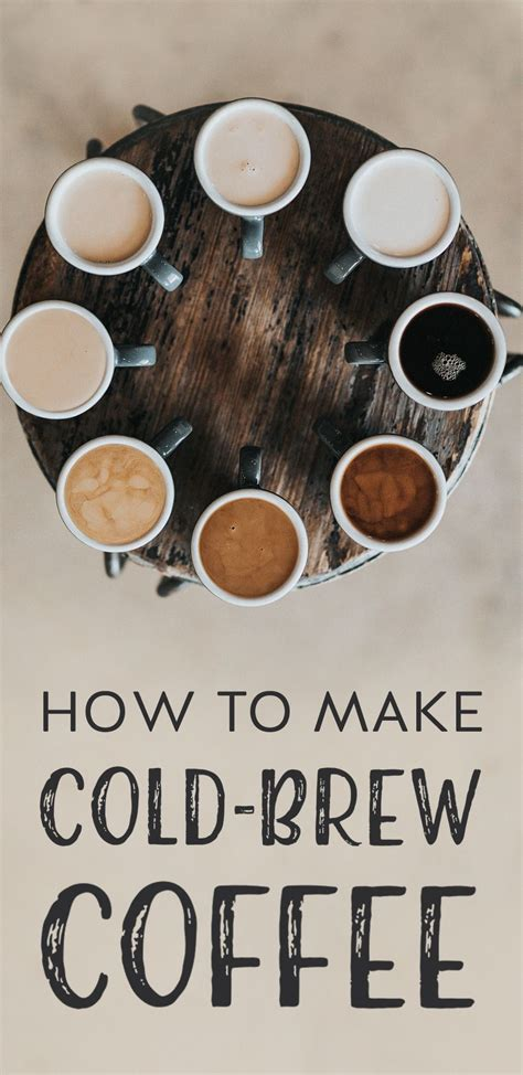 By kelly plowe, ms, rdn updated march 28, 2020. How to Make Cold-Brew Coffee | Making cold brew coffee, Coffee recipes, Cold brew