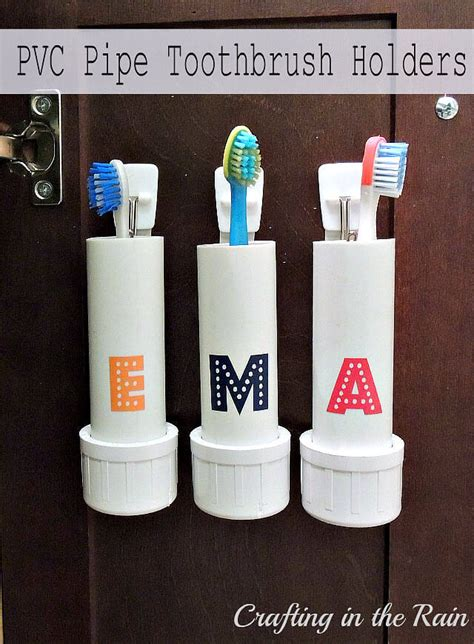 pvc pipe organizing  storage projects ideas