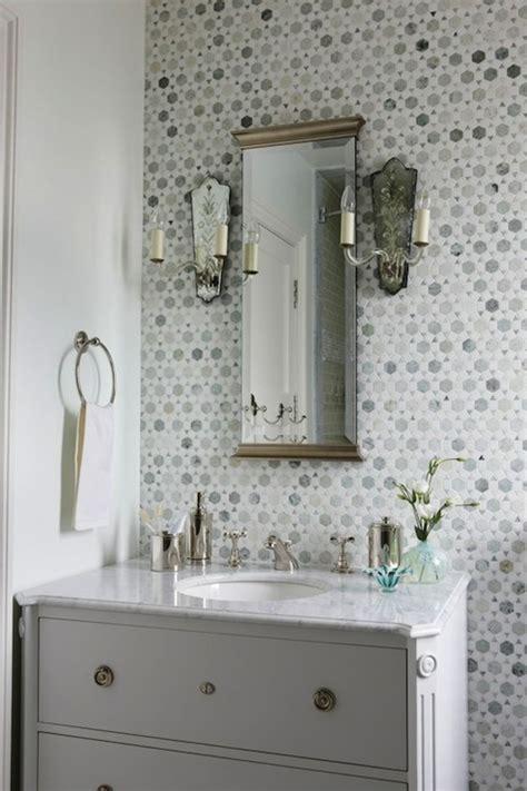 Saltillo Imports Marble Mosaics Long Octagon Tiles Design