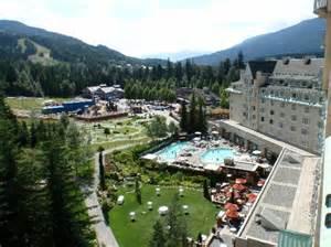 Pool Area Picture Of Fairmont Chateau Whistler Resort Whistler Tripadvisor