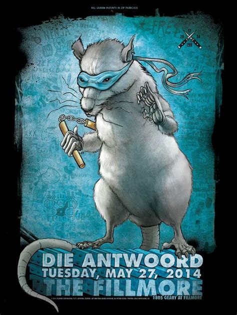 Widespread Panic Halloween by Die Antwoord Fillmore Sf Zoltron