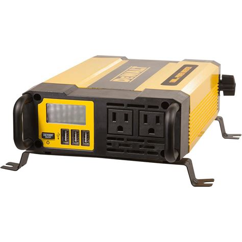 Dewalt Watt Power Inverter Dxaepi The Home Depot