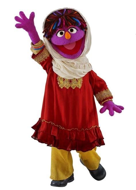 sesame street muppet  afghanistan promotes girls