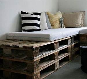 6 amazing diy pallet daybed designs pallets designs With pallet sofa bed