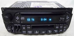 Dodge Dakota 2002 2003 2004 Factory Stereo Tape Cd Player