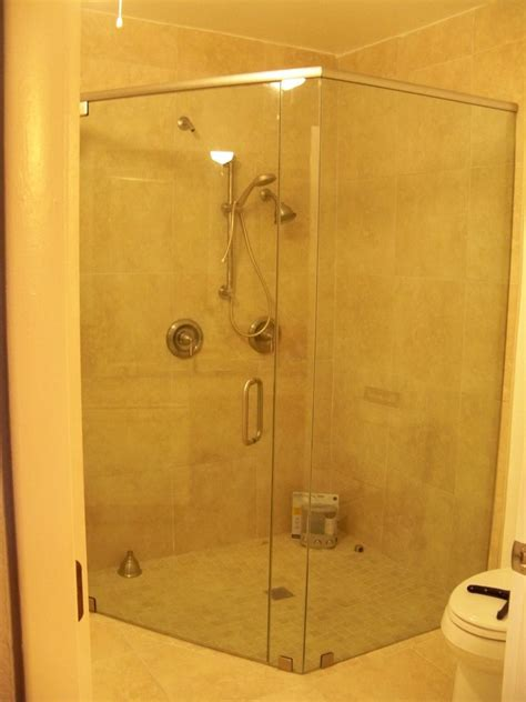 hometalk         glass shower