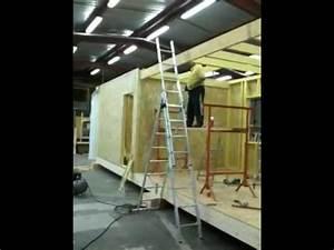 Maison Modulaire Bois : maison modulaire bois youtube ~ Melissatoandfro.com Idées de Décoration