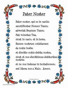 Pater Noster Prayer Sheet - That Resource Site