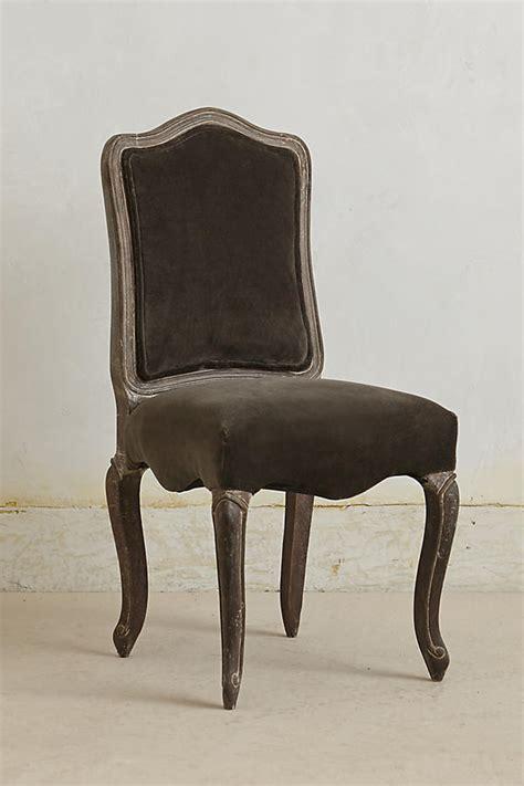 velvet beatrix dining chair anthropologie