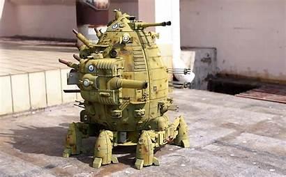 Robot Tank Walking 3d Giant Printed Miniature