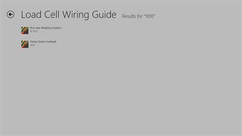 load cell wiring guide for windows 8 and 8 1
